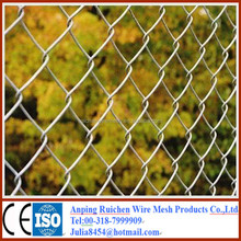 Weave Chain Link Fence Manufacturing