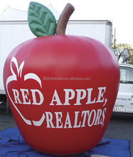 8' Inflatable Apple Logo Wall