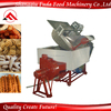 Double stiring system fried snack food automatic cooking machine
