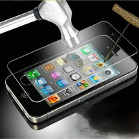 Screen protector with design Glass screen protector for iPhone 4 4s