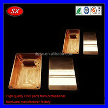 customized high quality CNC Milling Machining brass copper DIY Mod Box ,electronic diy aluminum project box