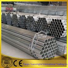 Galvanized square / rectangular / round steel tube / pipe in Alibaba China