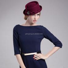 German Crushable Fashion Girls Wool Felt Hat