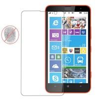 HD 9H 0.33mm 2.5D Rounded Edge High Clear Anti-Fingerprint/Oil/Water Real Tempered Glass Screen Protector for Nokia Lumia 1320