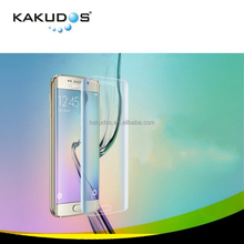 New Product 0.33mm 9H Hardness Curved edges Tempered Glass Screen Protector for Samsung Galaxy S6 edge