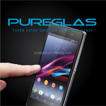 Fast shipping 2.5 round edge screen guard for Sony Z1 compact