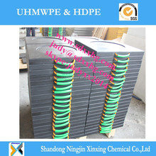 Lightweight of plastic uhmw crane support jack pad/outrigger pad/stabilizer pad
