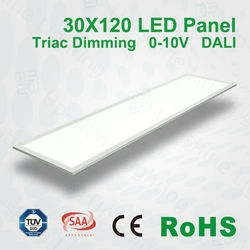 Dimmable led panel Dali,0-10V,Triac compatible big led panel light shenzhen led panel light