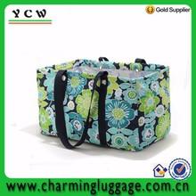 Luxury design large utility tote beach laundry bag pattern beach bag