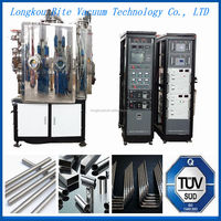 China New Design PVD stainelss steel tools magnetron technology vacuum metalizing coating/plating machine equipment