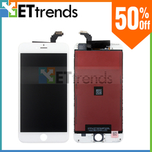 White/Black LCD Assembly with Digitizer for iPhone 6 Replace