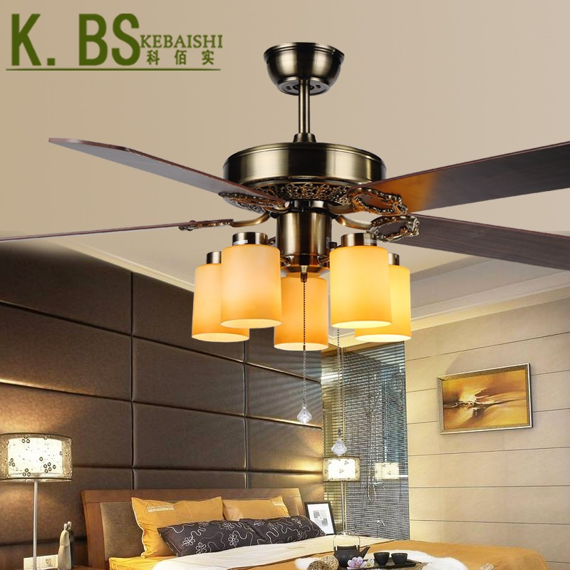 European Antique Ceiling Fan Light Living Roon Dining Room Light From China Z