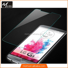 Transparent tempered glass protective film for lg g3,Ultra smooth tempered glass cover For LG G3,smartphone