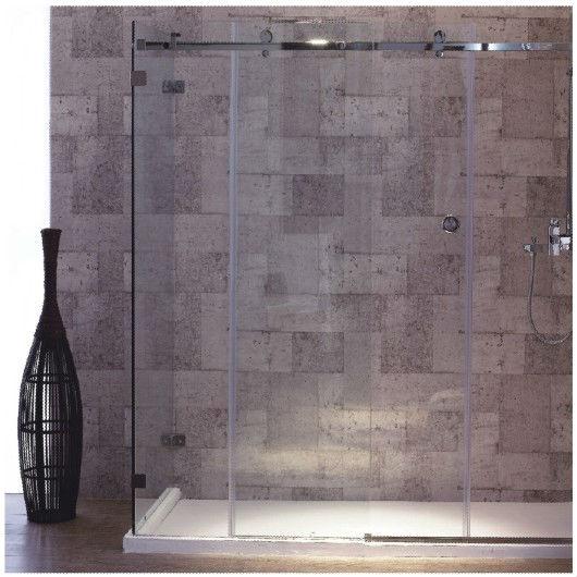 Vidrio de alta calidad puertas corredizas para ba os - Puertas de bano corredizas ...