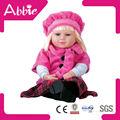 bebê do algodão masculino boneca boneca de silicone feitas à mão boneca de algodão
