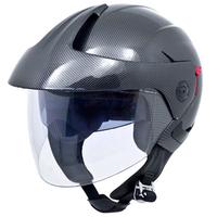 Jet Pilot /Motorcycle Helmet Open Face with dual visors