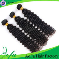 Wholesale cheap price and unprocessed 24 inch deep wave russian virgin hair extension