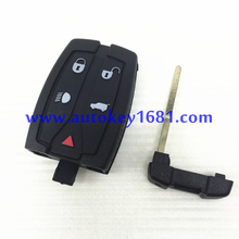 car remote key cover for land rover range rover free lander 5 button smart key shell best quality with uncut keys blade