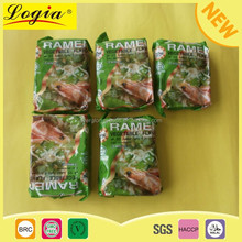 Customized flavor, personalized and package instant noodle