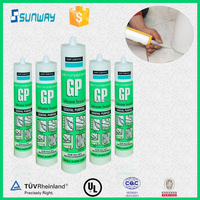 Top selling clear acetoxy silicone sealant from Dow Corning for windows & doors