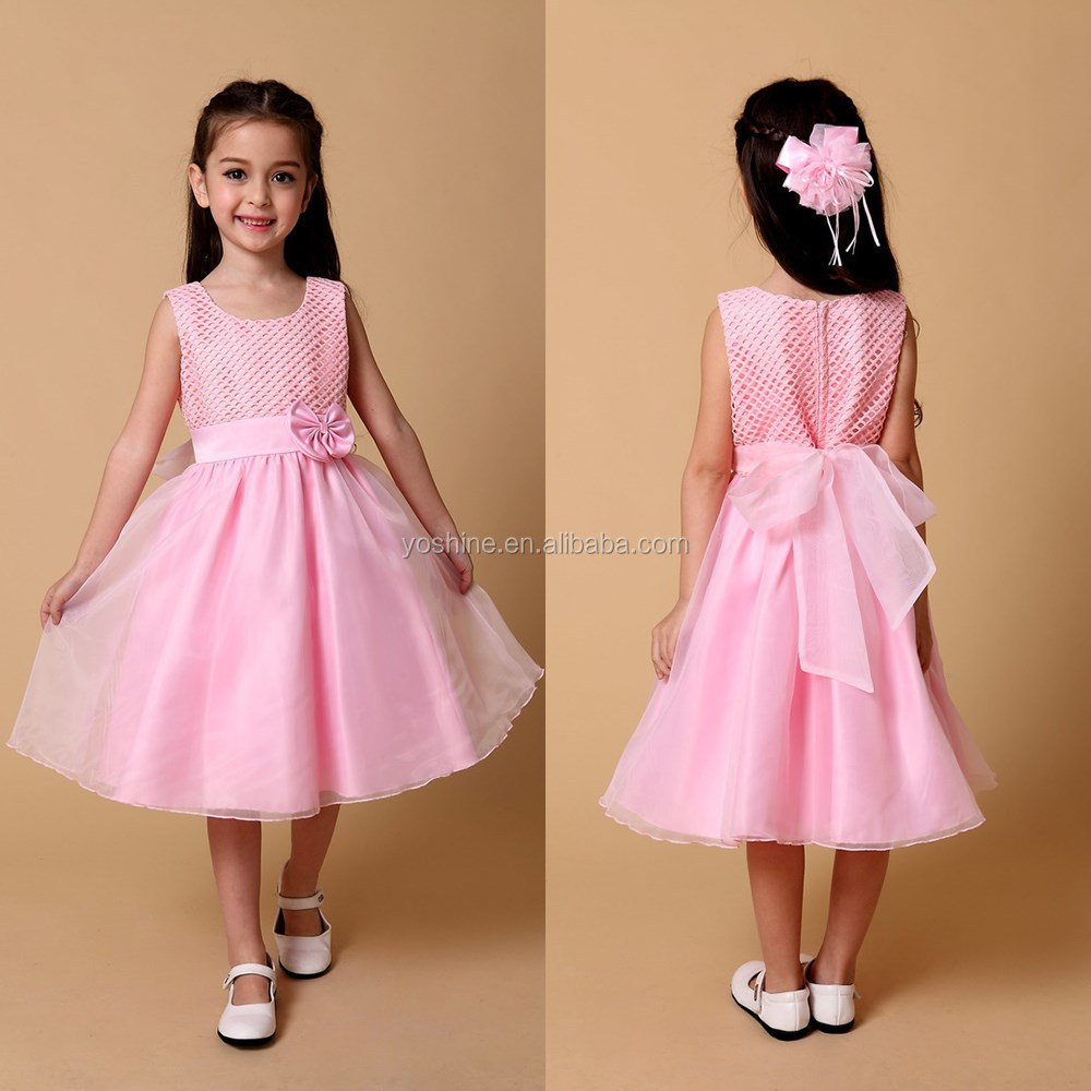 Kids Wedding Dresses Pink Images