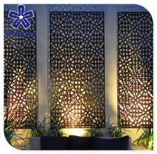 decorative laser cut metal screens for interior garden outdoor or courtyard