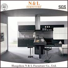 Best design creative beech wood veneer kitchen cabinets, kitchen furniture