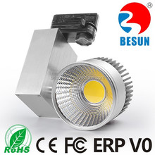 5yrs warranty CRI>90 Euro COB led shop window track light led track lighting with CE & RoHS approval