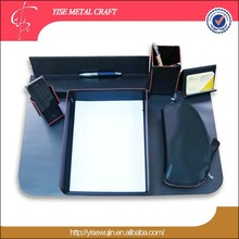 Wholesale Office Business Leather Desktop Gift Made In China