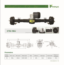 rear axle with differential of 3 wheels trike ,Electric tricycle,rickshaw---CYA-160J