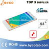 android apps free download mobile/4g LTE 5.5 inch touch mobile phones /13mp camera smart phone