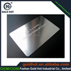 New products 2015 customized cheap metal business cards china brushed glossy matt metal cards