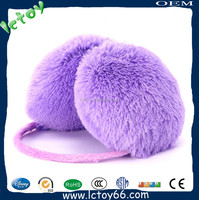 purple earmuff headphone for kids safety
