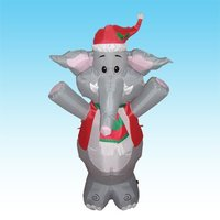 DJ-TL-029 4 ft inflatable Christmas decorations mascots elephants
