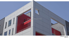ACP Sheet Cladding ACP Building Elevation Aluminium Composite Work