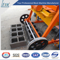 China famous product manual fly ash brick machine with best price