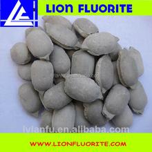 Fluorspar Briquettes Mineral Fluorspar Ball manufacturing company