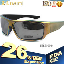 China New design Plastic sunglasses suncristal branded 52ST10004 model number