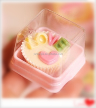 Hot selling chocolate packaging,mini chocolate plastic packaging box