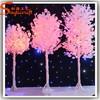 Artificial pink artificial decorative trees centerpiece decorative tree for indoor decoration tree
