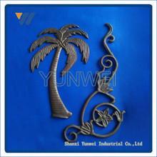 Best Selling Cast Iron Designs, Leaves, Flower & Spears 4335 For Garden Decoration