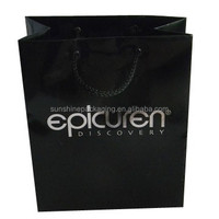 Store and retail shopping use luxury eurototes paper bag