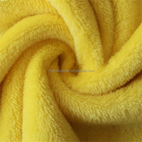 2015 hotsale and softball fleece fabric 100% polyester brushed neon color made in China