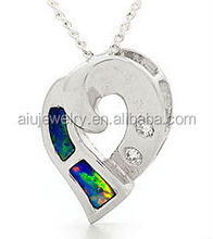 Cheapest antique custom heart shape charm pendant