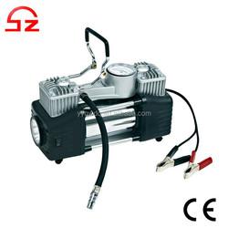2015 High quality double cylinder 12v air compressor