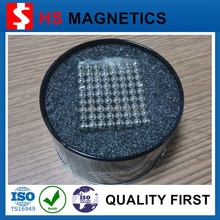 Strong small ball shaped magnets