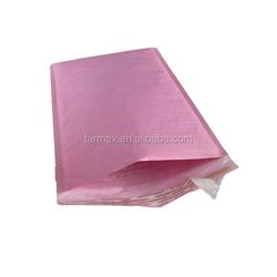 2015 Farmax colorful pink white brown kraft paper bubble padded envelopes mailer bag