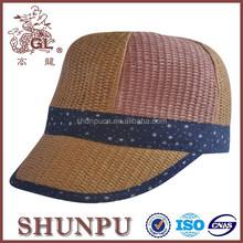 Hair plain sun visor hat baby sun visor hat