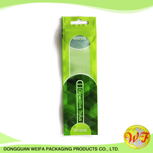 Weifa Header Bags,Self Seal Plastic Cello Bags,Mouse Mat Packing Retail Display Bags