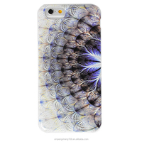 Custom fancy luxury fur mobile phone case for iphone 6s with tpu
